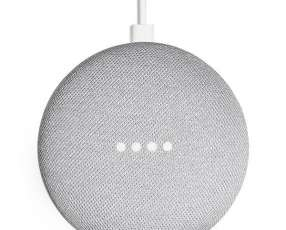 Speaker Google Home Mini GA00210-US con Wi-Fi|Bluetooth - Gris Claro