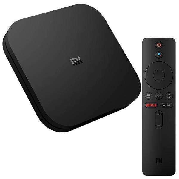 TV Box Xiaomi Mi Box S Ultra HD 4K con HDMI|USB|Wi-Fi OS Android 8.1 Bivolt - Negro - 0