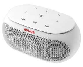 Speaker Aiwa AW31 con Bluetooth|Auxiliar Batería de 2.500 mAh - Blanco