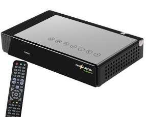Receptor FTA Nazabox X-Game Wi-Fi Ultra HD HDMI - Negro|Plateado