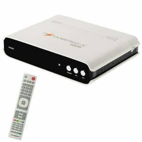 Receptor FTA Azamerica S2015 Ultra HD con HDMI|Wi-Fi|2 LNB Bivolt - Blanco|Negro