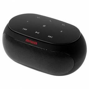 Speaker Aiwa AW31FM con Bluetooth Auxiliar FM Batería de 2.500 mAh - Negro