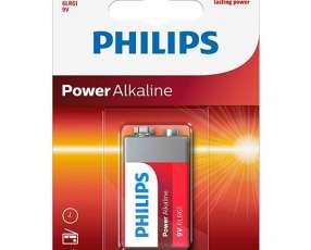 Bateria Alcalina 9V Philips 6LR61P1B|97