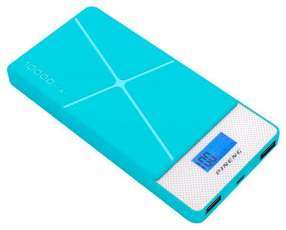 Cargador Portátil PINENG PN-983 10.000 mAh 2 Salidas USB - Azul