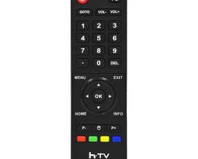 Controles para receptores h.tv FTA HTV 6 - Negro
