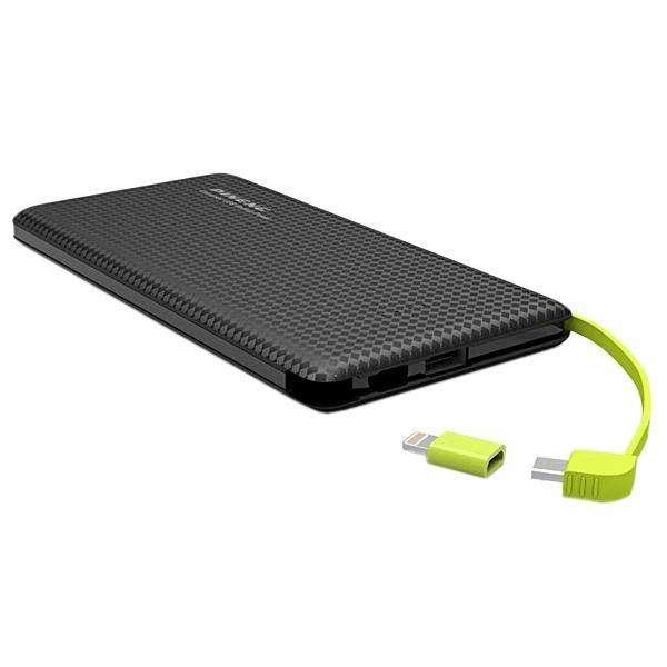 Cargador Portátil PINENG PN-952 5.000 mAh Salidas USB Micro USB - Negro - 0