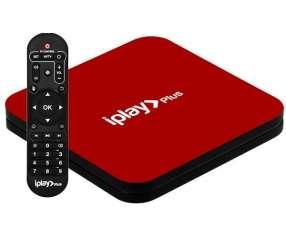 Receptor FTA AI-TAK iplae Plus 4K Ultra HD IPTV|Wi-Fi|HDMI|USB Bivolt - Rojo