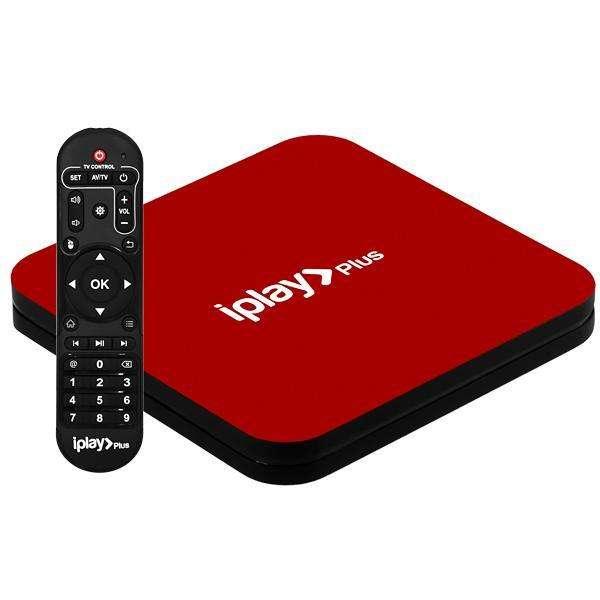 Receptor FTA AI-TAK iplae Plus 4K Ultra HD IPTV|Wi-Fi|HDMI|USB Bivolt - Rojo - 0