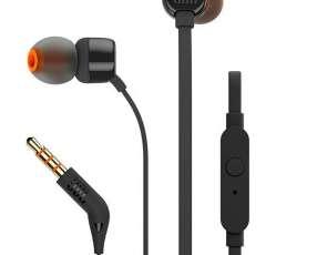 Auriculares jbl T110 con Micrófono - Negro