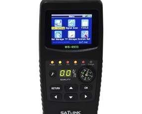Localizador de Satélite Satlink WS-6933 Tela LCD Micro USB - Negro