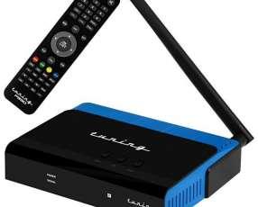 Receptor FTA Tuning P'930 Full HD con Wi-Fi|HDMI|USB Bivolt - Negro|Azul