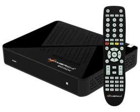 Receptor FTA Azamerica S1007NEW Full HD Wi-Fi|DLNA IPTV Bivolt - Negro