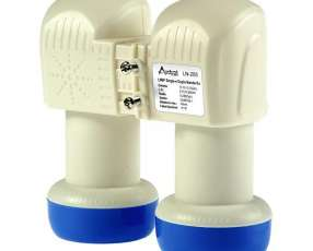 LNB Audisat LN-205 de 2+1 Salidas|Resistente à Água - Blanco|Azul