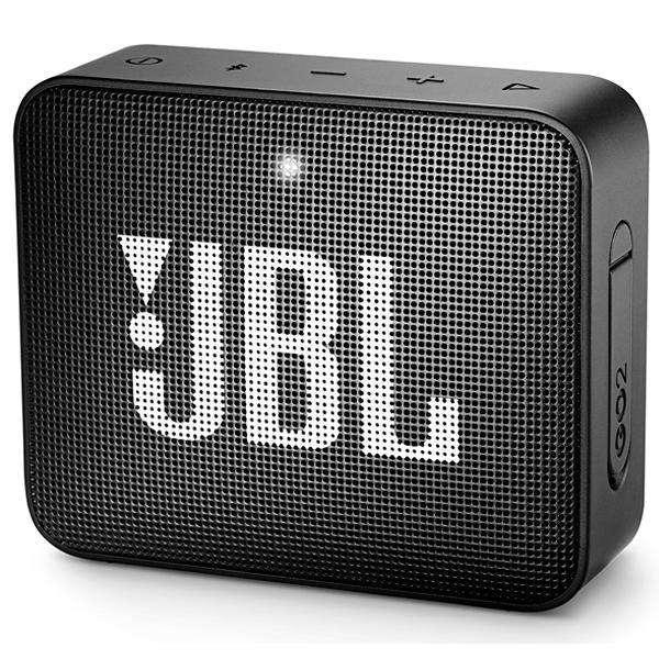 Speaker JBL Go 2 con Bluetooth|Auxiliar Bateria de 730 mAh - Negro - 0