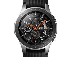 Smartwatch Samsung Galaxy Watch SM-R800 de 46 mm con GPS|Wi-Fi|NFC|Bluetooth - Plateado|Negro