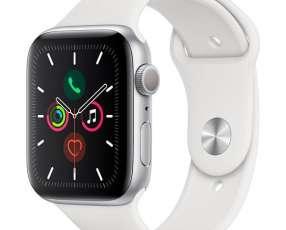 Apple Watch Series 5 44 mm MWVD2LL A A2093 - Silver White