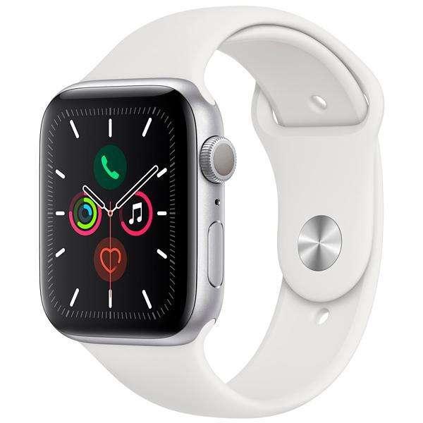 Apple Watch Series 5 44 mm MWVD2LL|A A2093 - Silver|White - 0