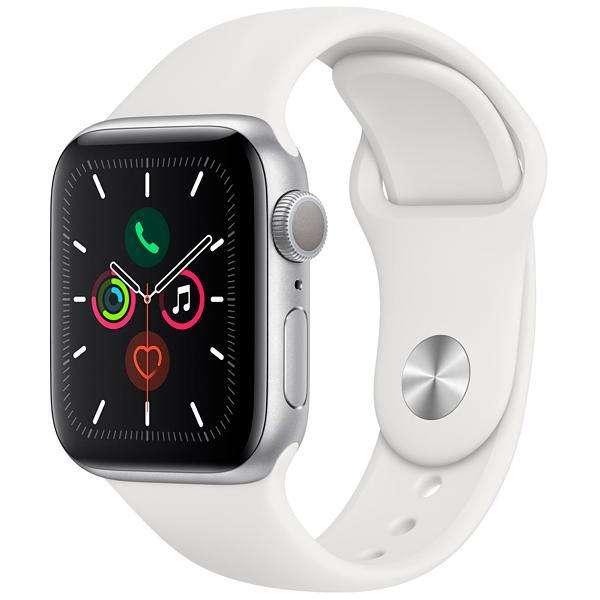 Apple Watch Series 5 40 mm MWV62LL A A2092 - Silver White - 0