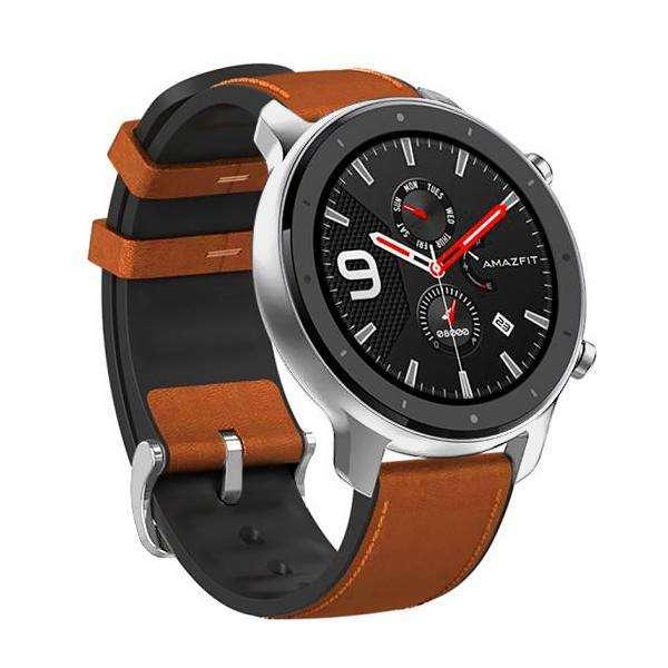 Smartwatch Xiaomi Amazfit GTR A1902 47 mm con Bluetooth|GPS - Plateado|Marrón - 0