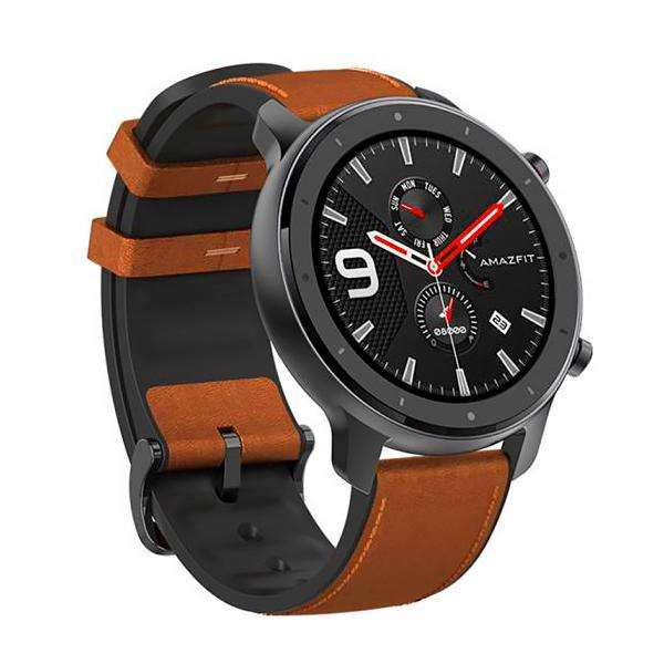 Smartwatch Xiaomi Amazfit GTR A1902 47 mm con Bluetooth|GPS - Gris|Marron - 0