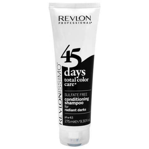 Shampoo Revlon Revlonissimo 45 Daes Radiant Darks 2 en 1 275 ml