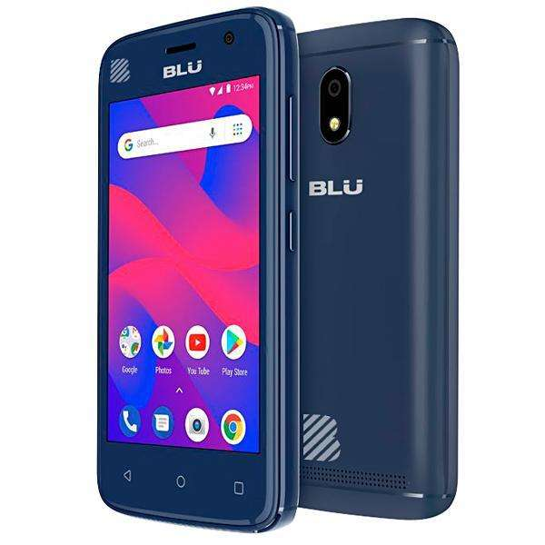 Smartphone BLU C4 C050L Dual SIM 8GB Tela de 4.0? 5MP|5MP OS 8.1.0 - Azul - 0