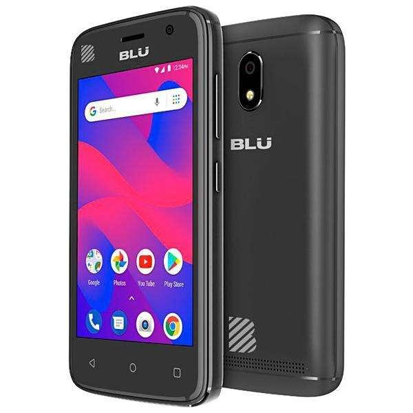 Smartphone BLU C4 C050L Dual SIM 8GB Tela de 4.0? 5MP 5MP OS 8.1.0 - Negro - 0