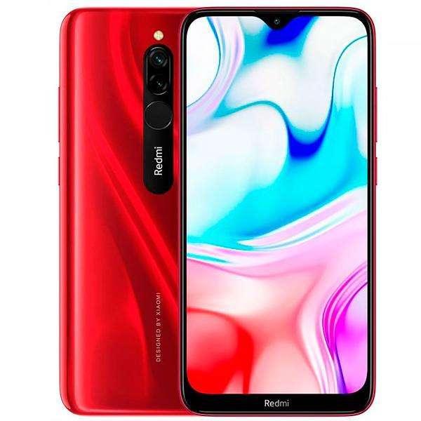 "Smartphone Xiaomi Redmi 8 Dual SIM 32GB de 6.22"" 12+2MP 8MP OS 9.0 - Rube Red - 0"