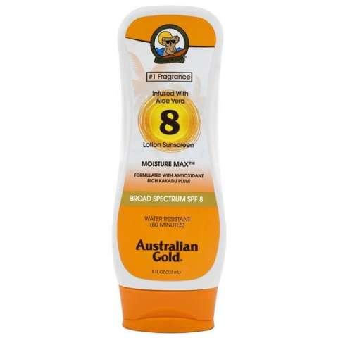 Protector solar Australian Gold Moisture SPF8 237ML