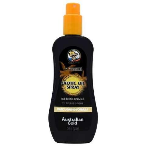 Bronceador Australian Gold Exotic Oil Sprae Dark Tanning 237 ml