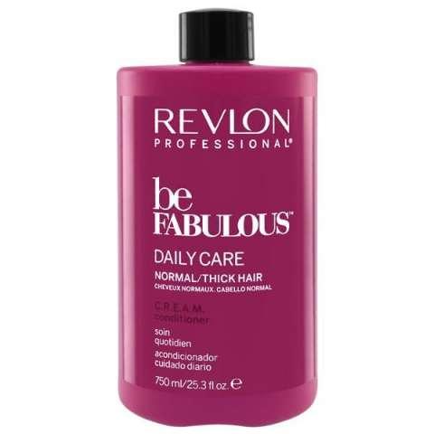 Acondicionador Revlon Be Fabulous Daile Care Normal Thick Hair 750 ml