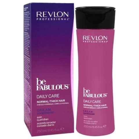 Acondicionador Revlon Be Fabulous Daile Care Normal Thick Hair 250 ml