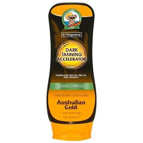 Bronzeador Australian Gold Dark Tanning Acelerator Lotion 237 ml