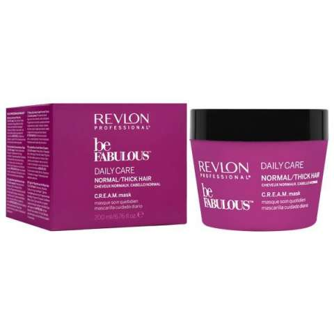 Máscara Capilar Revlon Be Fabulous Daile Care Tick Hair 200 ml