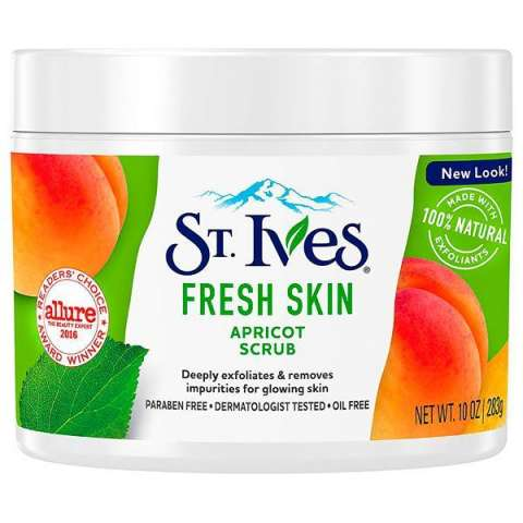 Exfoliante Corporal St. Ives Fresh Skin Apricot Scrub 283 ml