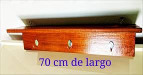 Repisa de madera cedro