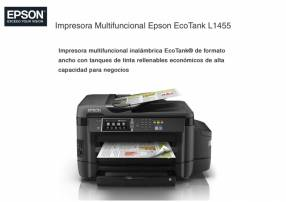Impresora Multifuncional Epson EcoTank L1455 A3