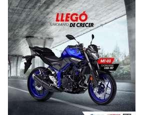 Moto Yamaha MT 03