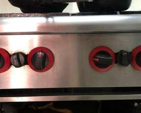 Anafe a gas ideal para restaurant