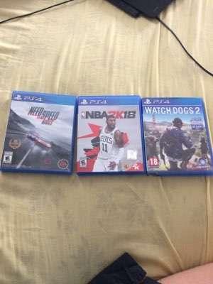 3 juegos PS4 - 0