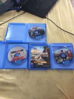3 juegos PS4 - 2