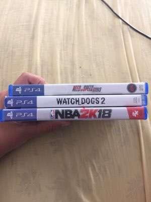 3 juegos PS4 - 3