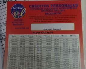 Créditos sólo con tu cédula