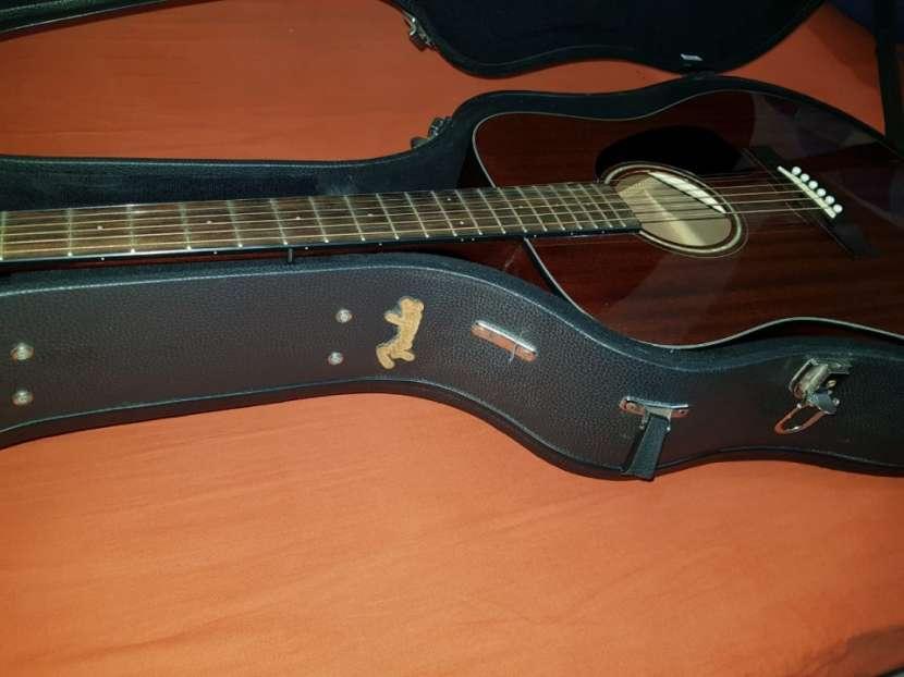 Guitarra acústica Fender CD60 y estuche rígido Fender - 0