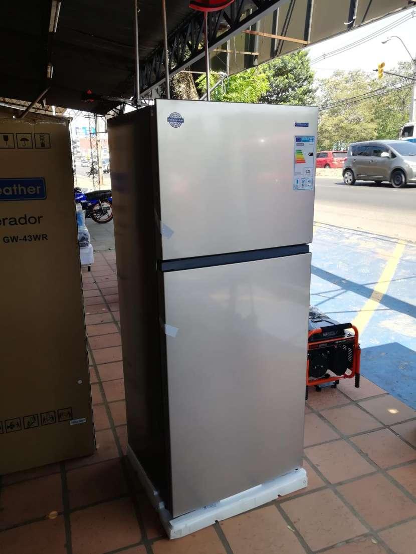 Heladera goodweather 490 litros comercial inox frio seco - 1