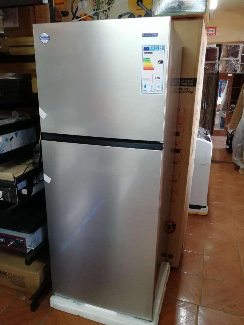 Heladera goodweather 490 litros comercial inox frio seco - 2