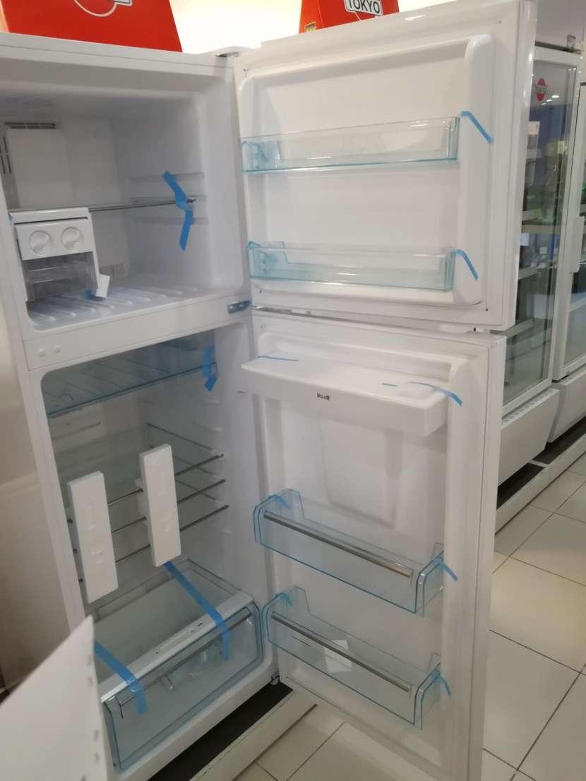 Heladera tokyo 450 litros comercial blanco con dispenser de agua frio seco - 2