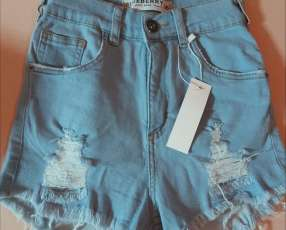 Short de jeans Blueberry