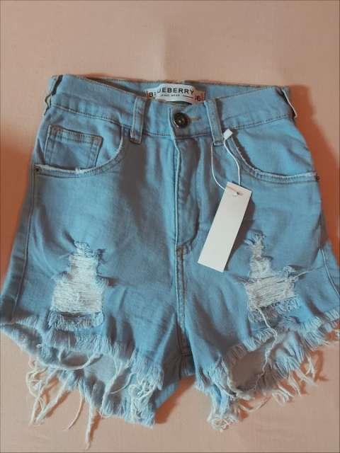 Short de jeans Blueberry