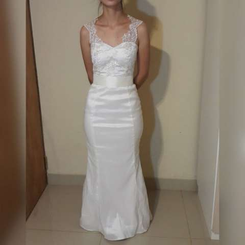 Vestido Sarey Blanco